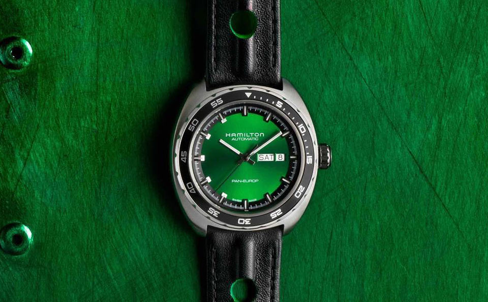 Hamilton Pan Europ Auto Green Time And Watches The