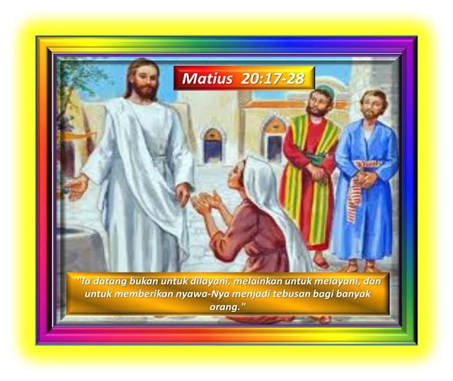Matius 20:17-28