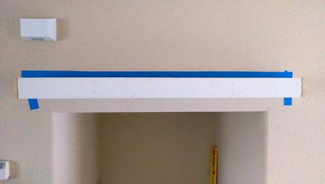 Jessicarose Home Decor Easy Diy Floating Mantel Under 20