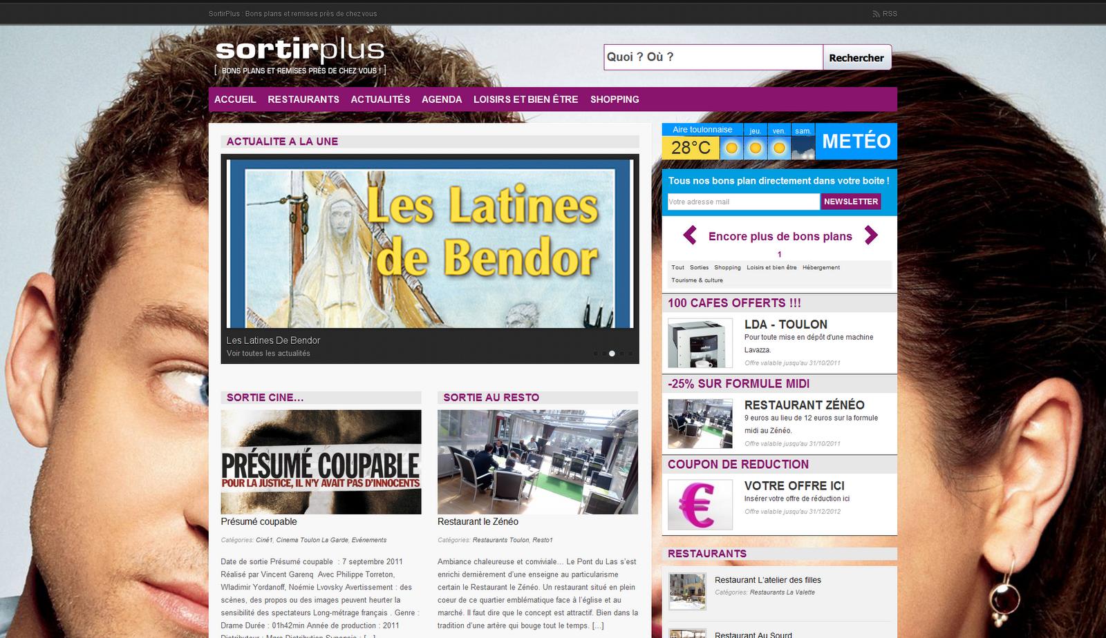 blog d 39 information du magazine sortirplus. Black Bedroom Furniture Sets. Home Design Ideas