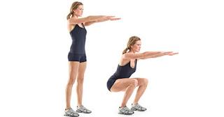 gerakan squats