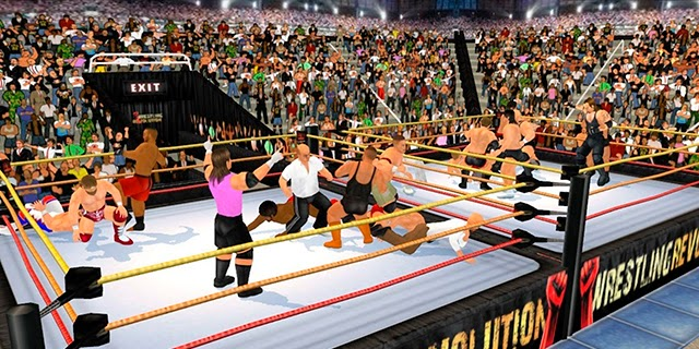 Descargar gratis Wrestling Revolution 3D para Android