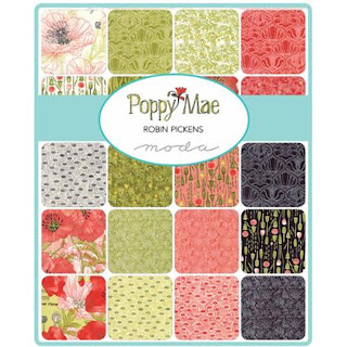 Moda Poppy Mae Fabric by Robin Pickens for Moda Fabrics