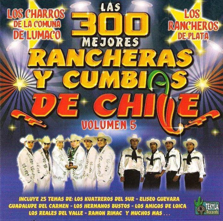 Las 300 Mejores Rancheras y Cumbias de Chile 1-9 - Identi