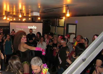 Show drag queen Gabrielle para cena de empresa en Madrid