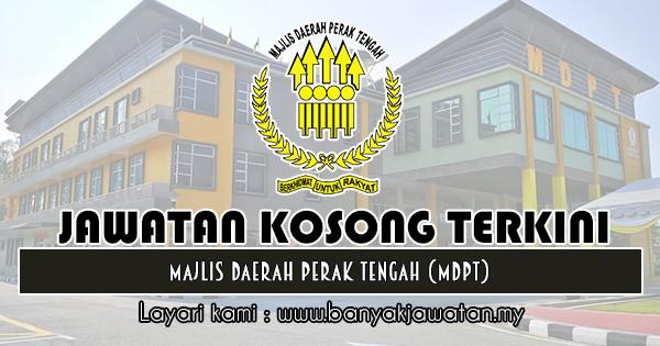 Jawatan Kosong 2019 di Majlis Daerah Perak Tengah (MDPT)