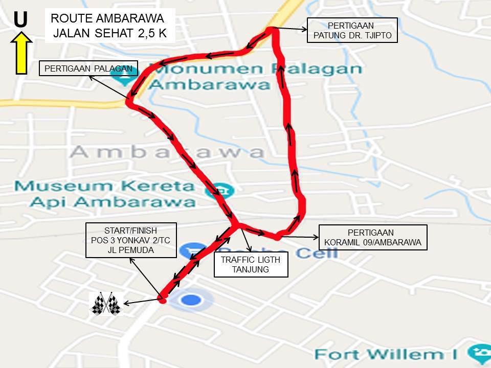 2.5K 👟 Ambarawa Heritage Run • 2018