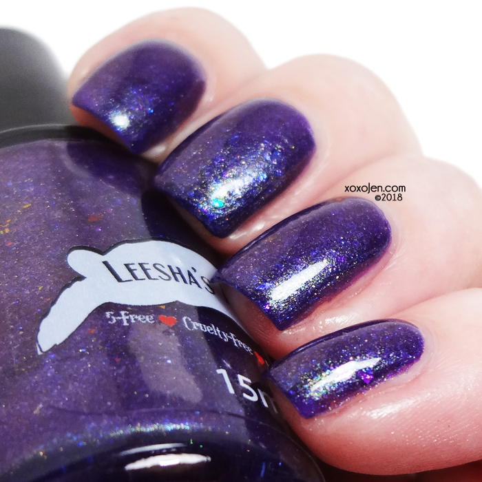 xoxoJen's swatch of Leesha's Lacquer Space Junk