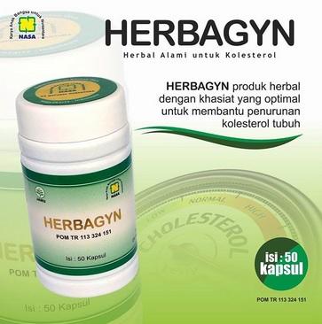 Herbagyn Produk Nasa Atasi Kolesterol Tinggi