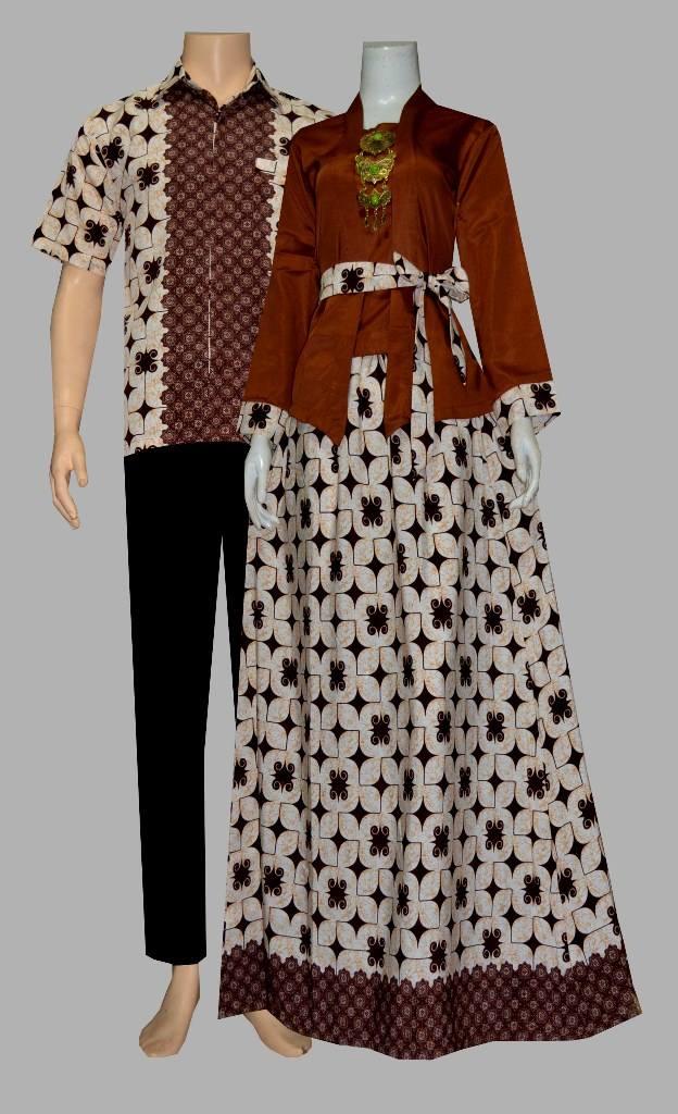 Baju Batik Gamis Sarimbit Batik Bagoes Solo