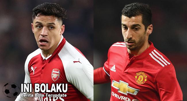 #KerenMana? Henrikh Mkhitaryan vs Alexis Sanchez, Yuk Intip Statistiknya