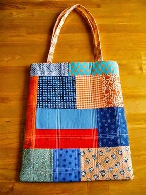 sacola de tecido