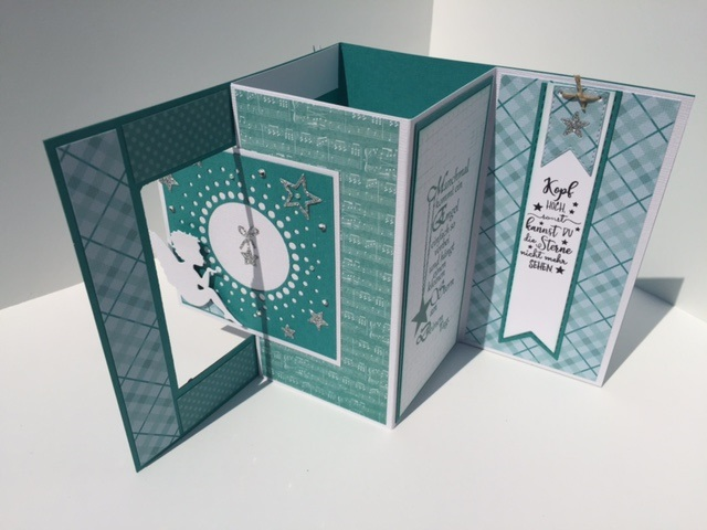 Biba S Paperdreams Anleitung Square Pop Out Swing Card