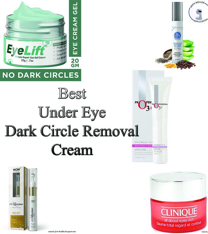 Best Under Eye Dark Circle Remover Cream