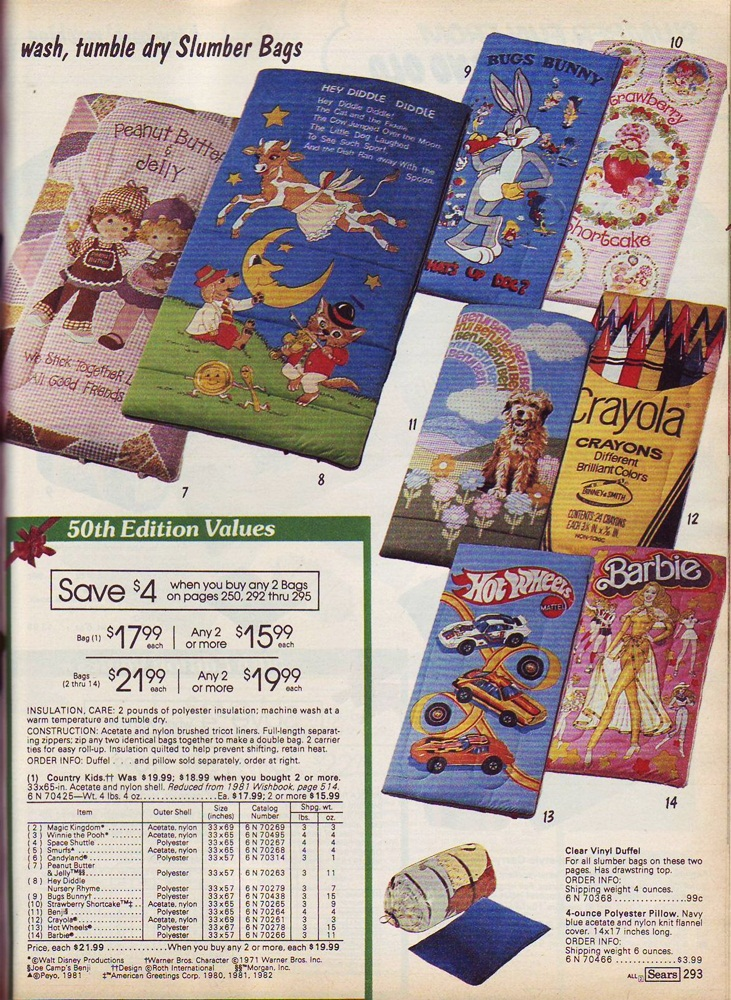 Lair of the Dork Horde: Christmas Catalog! Sears - 1982