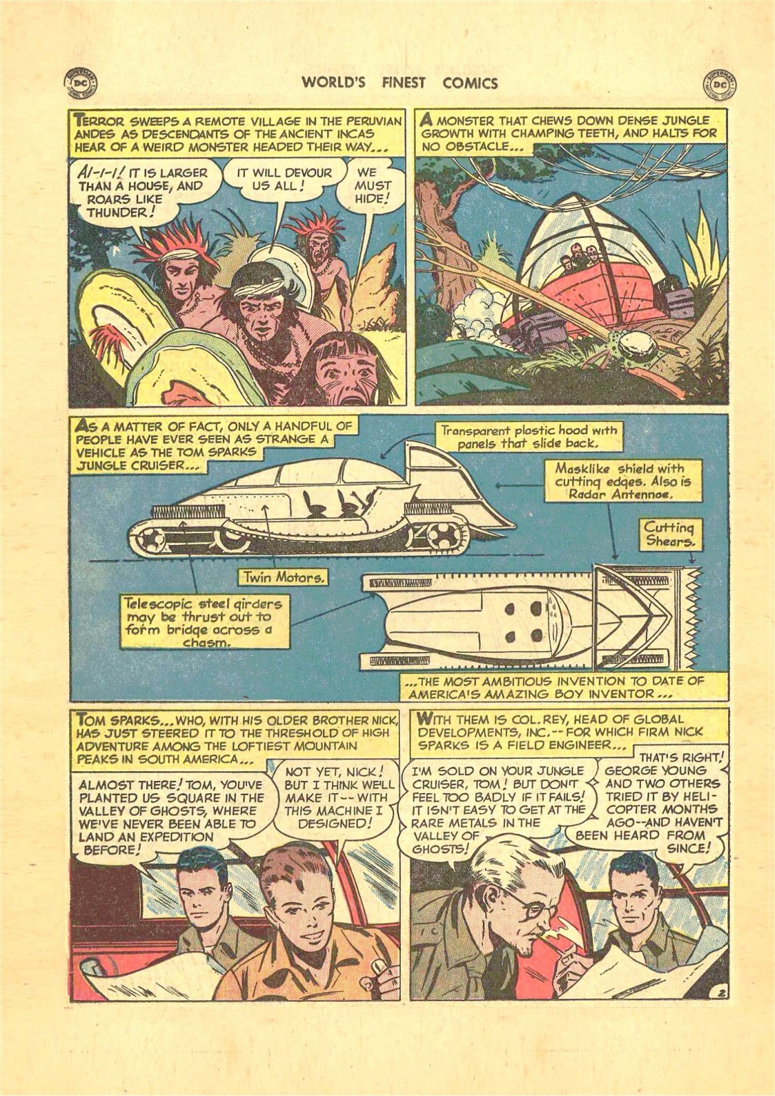 Read online World's Finest Comics comic -  Issue #50 - 30