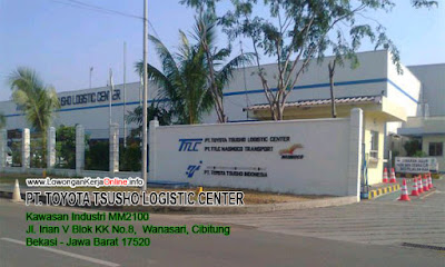 Loker PT Toyota Tsusho Logistic Center