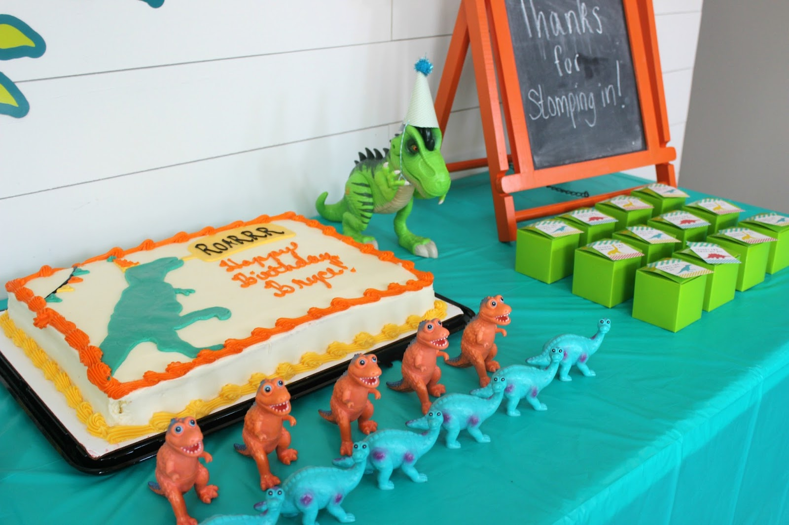 Budget Friendly Dinosaur Birthday Party Delightfully Noted
