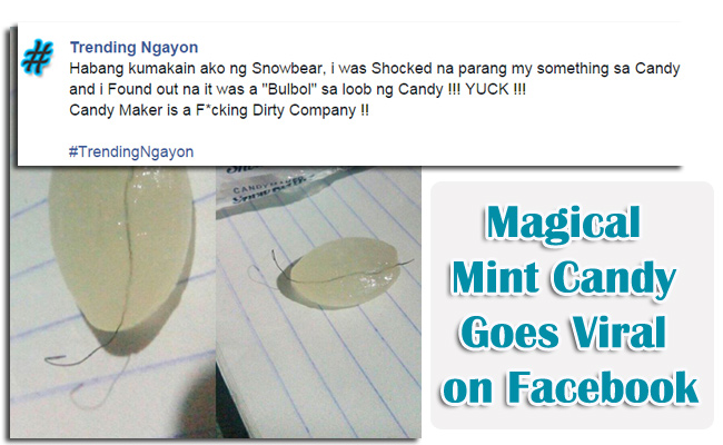 Magical Mint Candy Goes Viral Because of Funny comments from Netizens