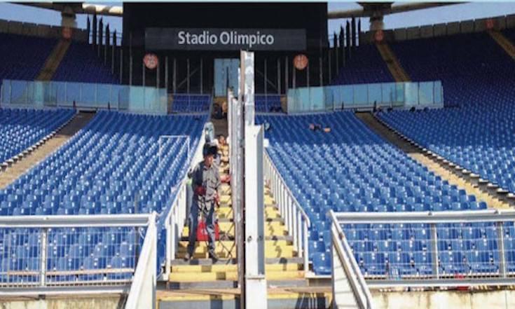 barriere curva Olimpico Roma Lazio