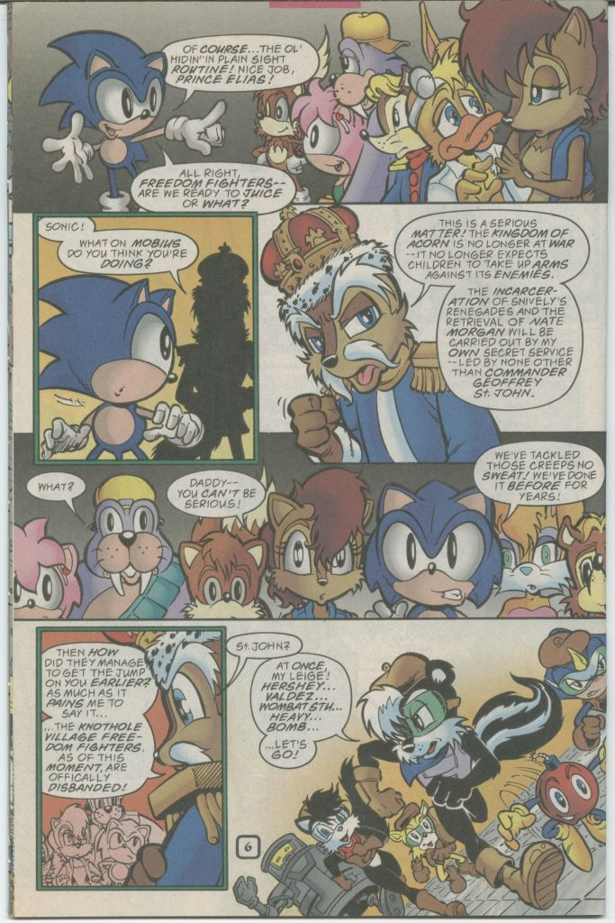 Read online Sonic The Hedgehog comic -  Issue #70 - 8