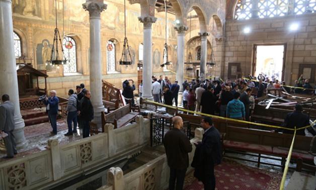إدارة المفرقعات تقوم بمسح شامل بعد حادث الكنيسة البطرسية لعدد 420 من الكنائس والسفارات