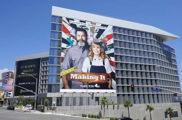 Giant Making It series launch billboard