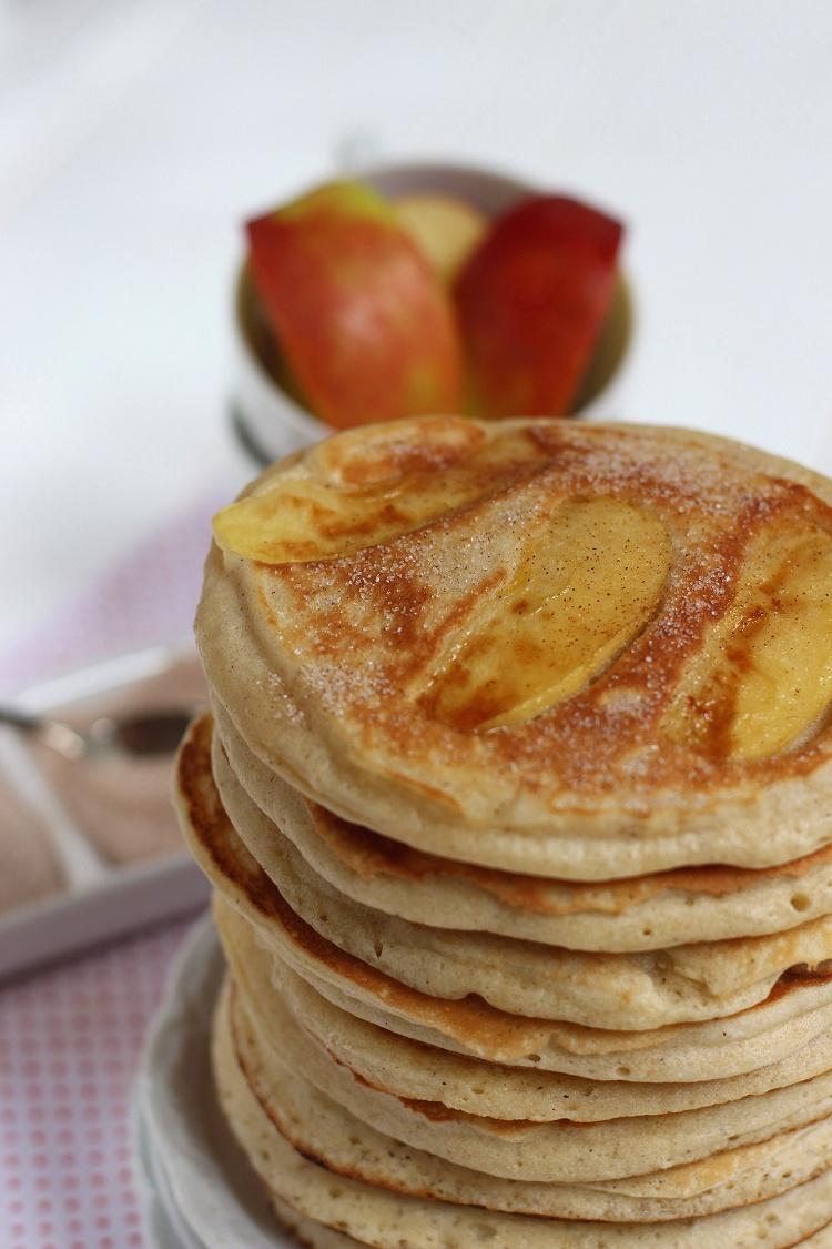 Apfel-Zimt-Pancakes 3