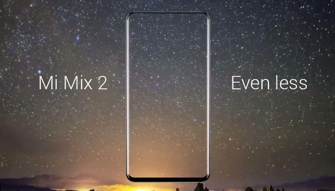 Đây là mặt trước và sau của Xiaomi Mi Mix 2