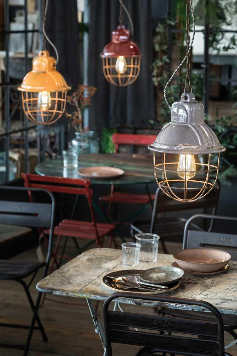illuminazione industrial style Ferroluce
