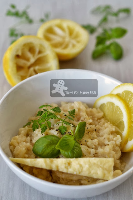 lemon risotto Rachael Ray