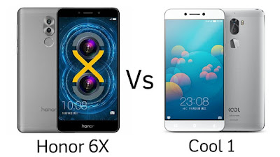 Honor 6X vs Cool 1 :Specs comparison