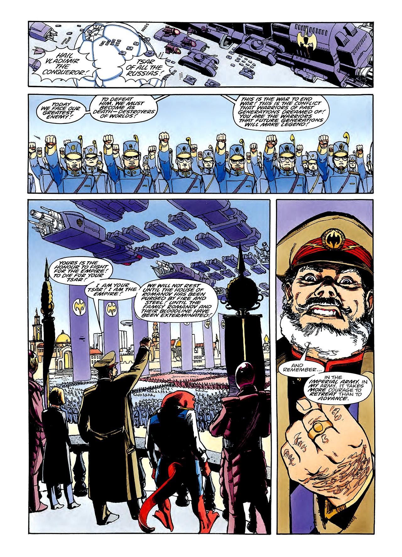 Read online Nikolai Dante comic -  Issue # TPB 3 - 98