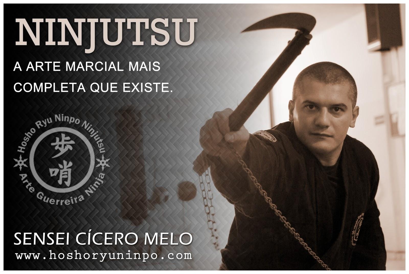 SENSEI CÍCERO MELO - NINJUTSU - DEFESA PESSOAL