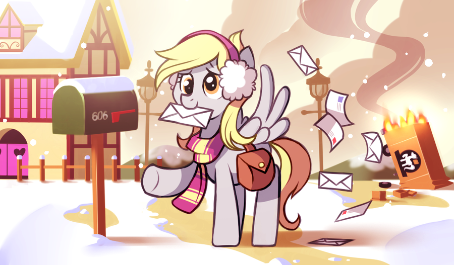 The Book Girl's Book Blog: My Little Pony 12 Days of Christmas Artwork