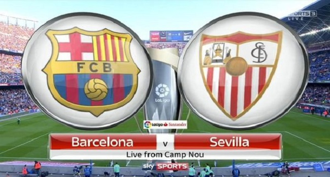 live streaming barcelona vs sevilla 5 november 2017
