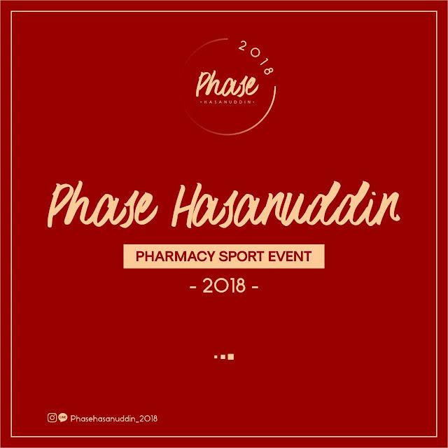 Pharmacy Sport Event (PHASE) Hasanuddin 2018