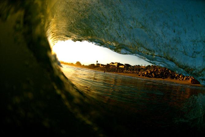 Michael Barrus: el surf art se lleva por dentro