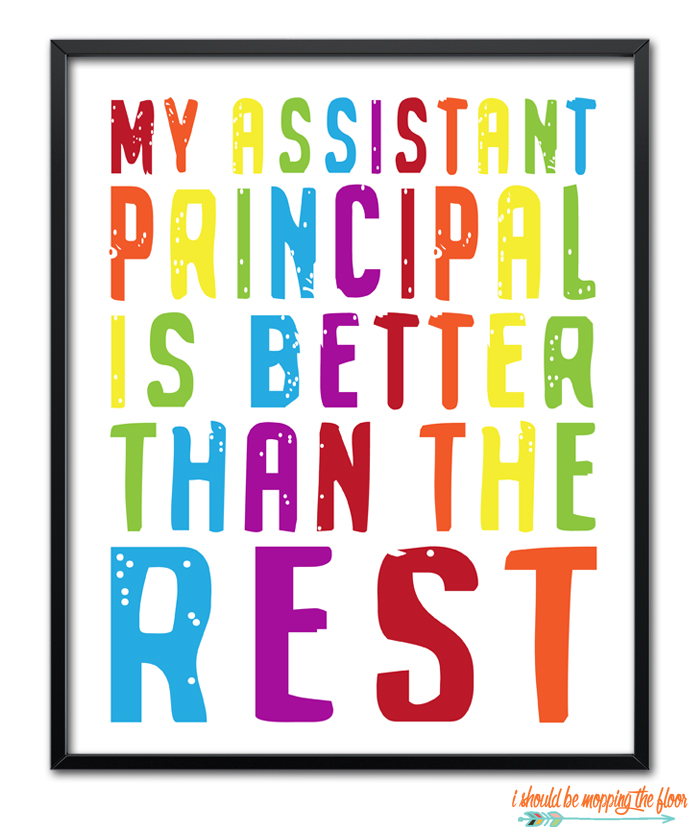 Colorful School Printables