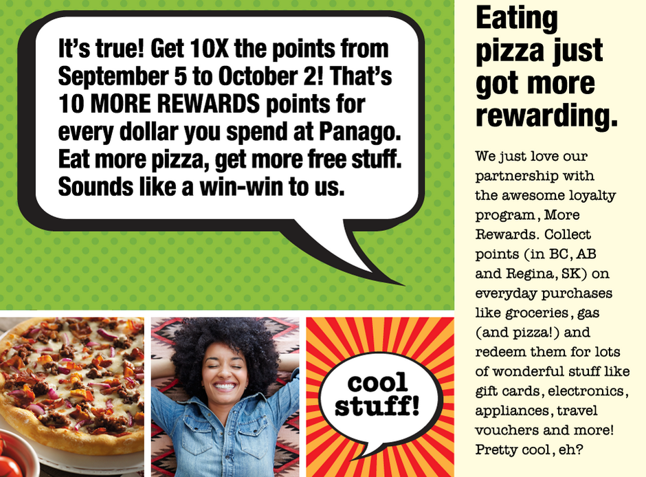 Rewards Canada: September 21 Update: 10x More Rewards Points at
