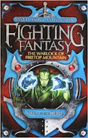 The very first Fighting Fantasy Gamebook: The Warlock of Firetop Mountain