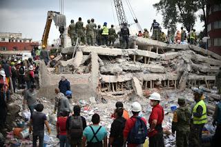 El terremoto en México fue causado por una arma de Corea del Norte.