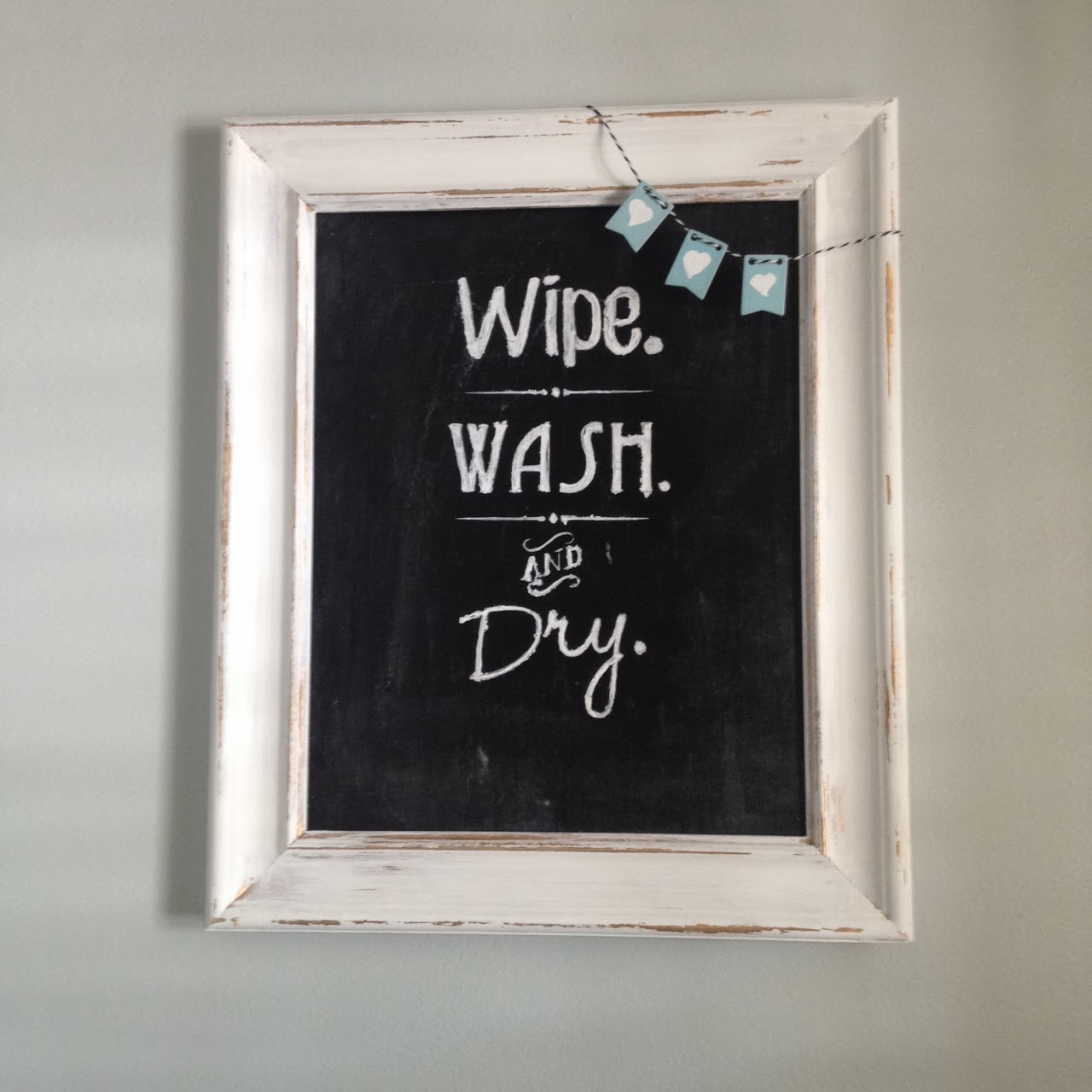 Boat Bathroom Signs: Two It Yourself: Free Faux Chalkboard Signs Tutorial {Plus