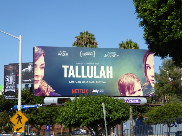 Tallulah Netflix movie billboard