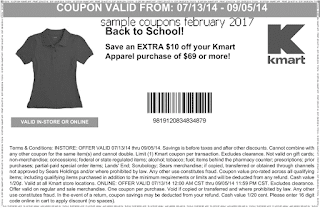 free Kmart coupons for february 2017