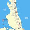 Peta Tanjung Benoa, Bali