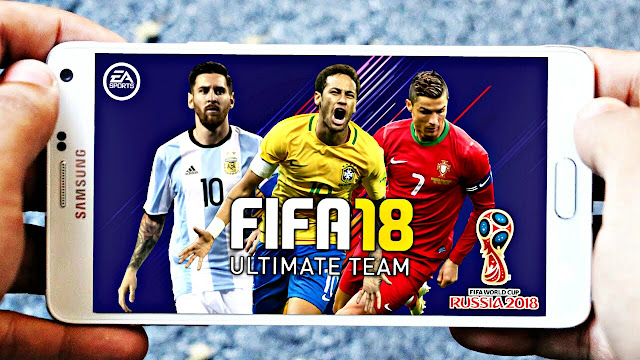 FIFA 18 MOD FTS Android Offline 300 MB World Cup Edition Best Graphics