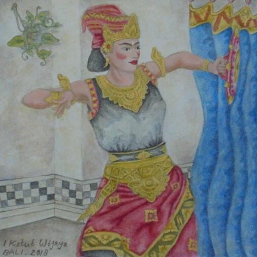Tari Jaran Teji Bali, Jaran Teji Dance Bali