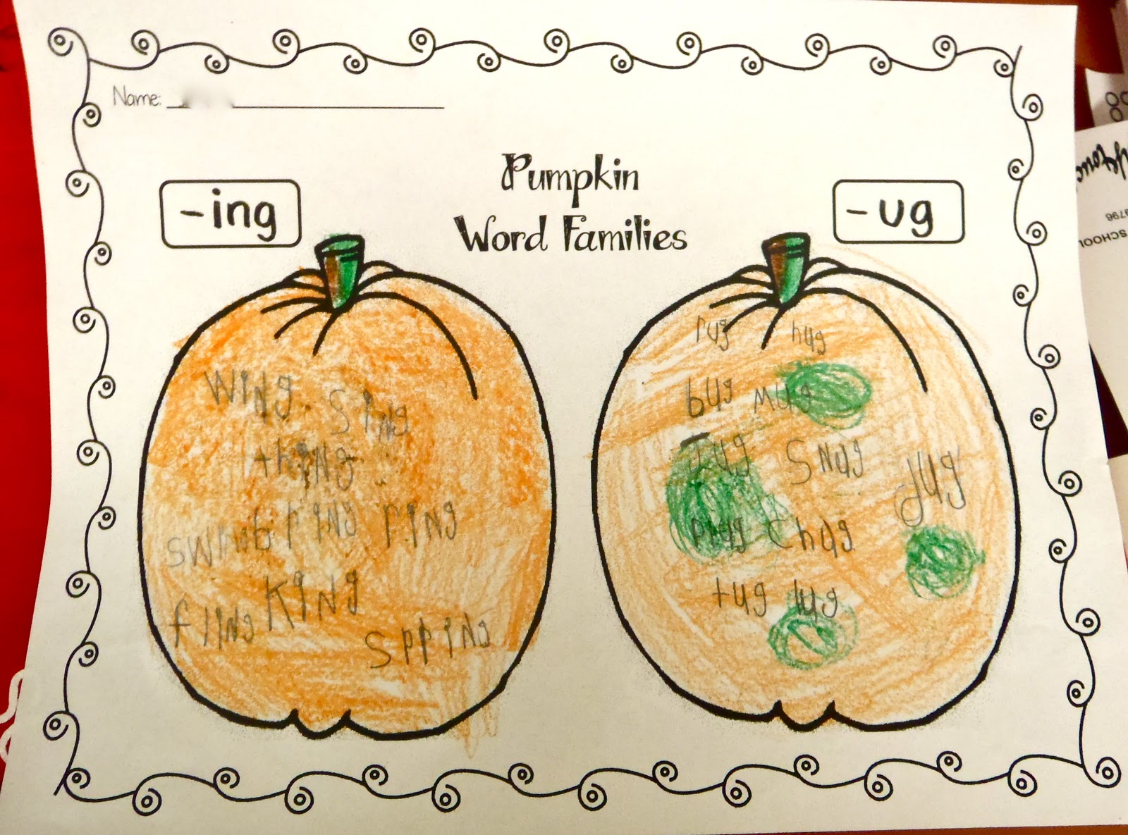 Fun With Firsties Pumpkins And More