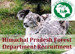 HP Forest Guard 465 Vacancies Last Date 14 July 2016